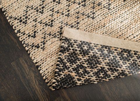 Black Creek Jute & Cotton Rug Backing