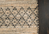 Black Creek Jute & Cotton Rug Weave Pattern