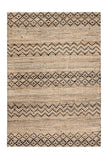 5' x 8' Black Creek Jute & Cotton Rug