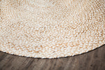 Speckled Egg Round Jute Rug