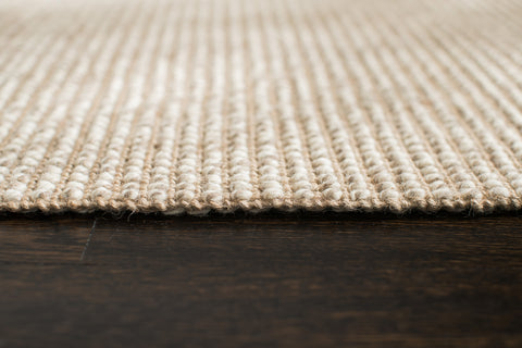 Sparrow Jute & Wool Rug Edge Detail