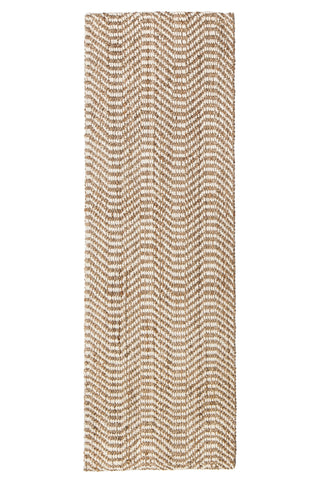 "2'6"" x 8' Dusty Waves Jute Rug Runner"