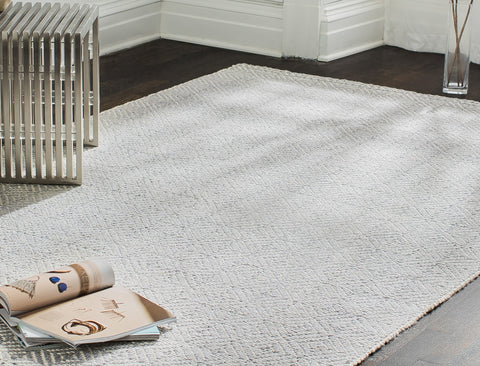 Powdered Stone Jute Flatweave Rug