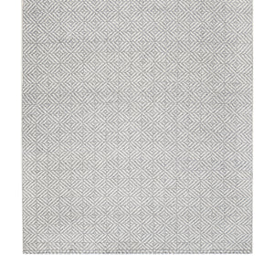 5' x 8' Powdered Stone Jute Flatweave Rug