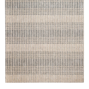 Gray Tufted Pillar Cotton Area Rug