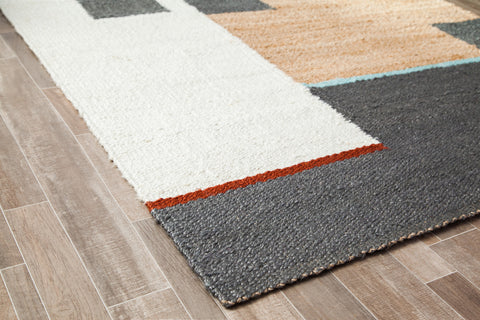 Boxed Out Jute Area Rug