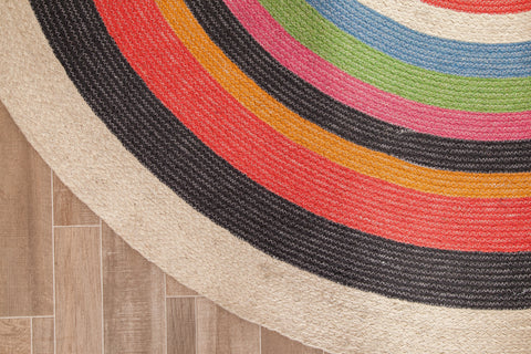 Corona Crush Jute Area Rug
