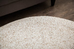 Thrasher Jute & PET Round Area Rug