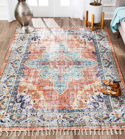 Seven Spices Cotton Blend Rug