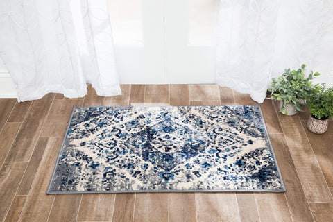 Weathered Lotus Area Rug