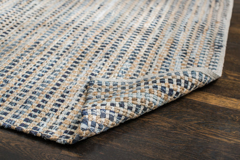 Bell Bottom Blues Cotton Rug Backing