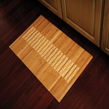 "20"" x 32"" Bamboo Kitchen & Bath Mat"