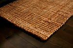 Andes Natural Jute Rug Close Up