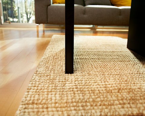 Desert Willow Wool and Jute Area Rug Close Up