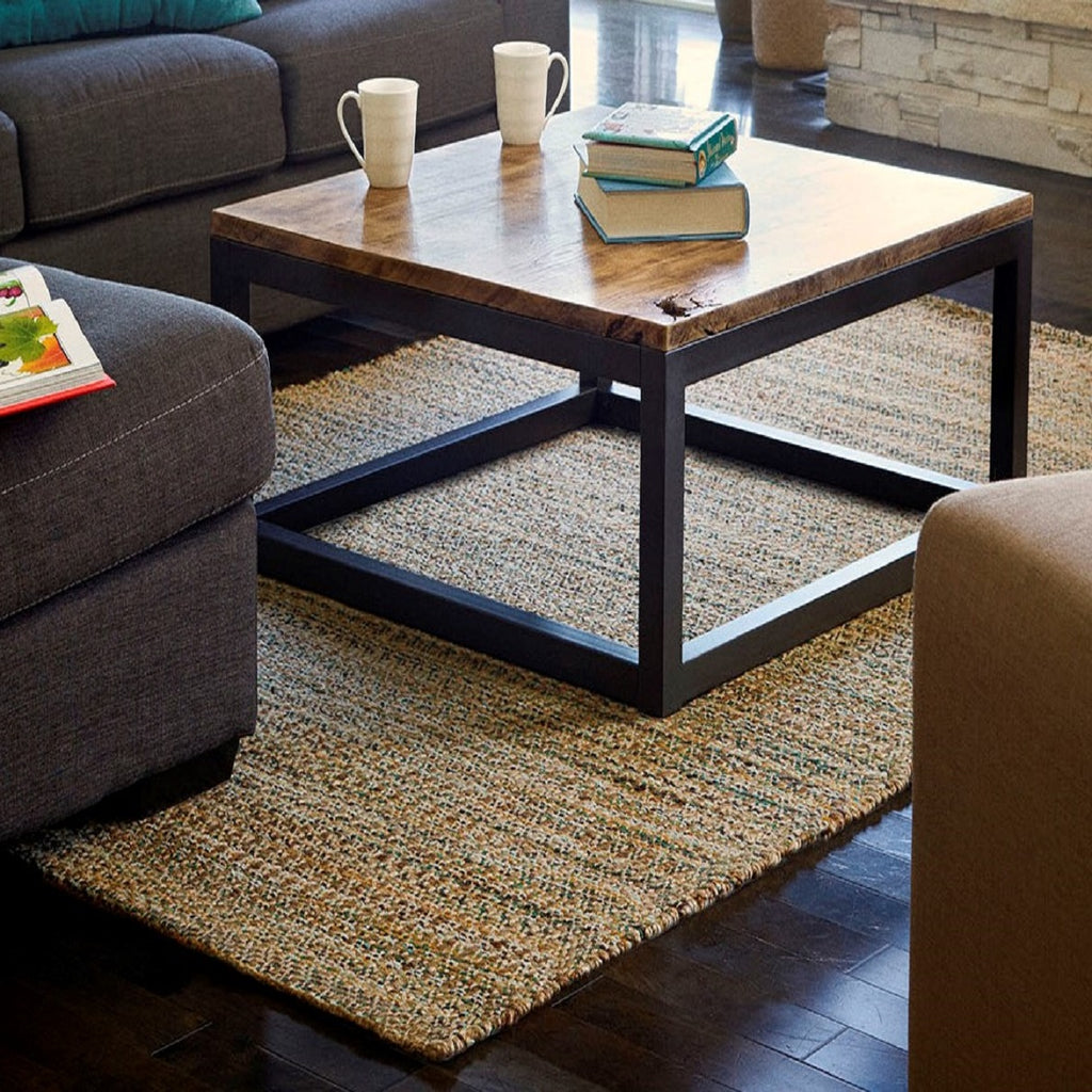 Woodland Jute and Chenille Area Rug