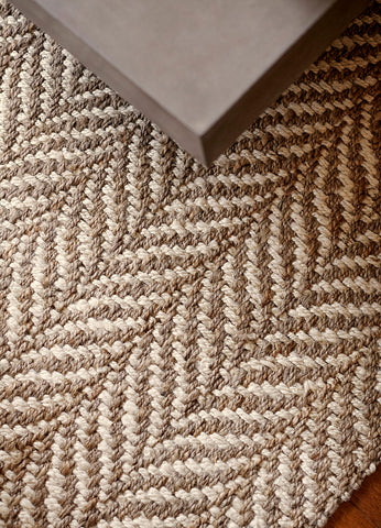 Sandscape Jute Rug Weave Close Up