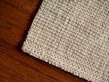 Andes Ivory Jute Rug Close Up