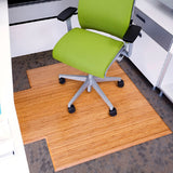 Natural Bamboo Tri-Fold Chair Mat