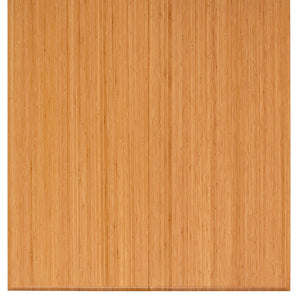 "42"" x 48"" Natural Bamboo Tri-Fold Chair Mat"