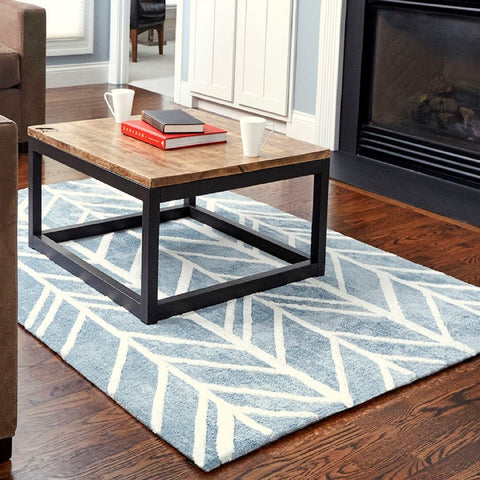 Pacific Tide Bamboo Viscose Area Rug