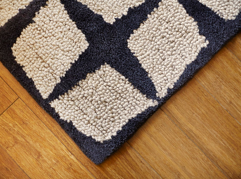 Celeste Jute & Bamboo Area Rug Weave Close Up