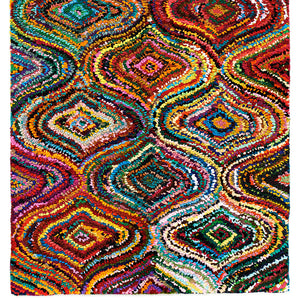 8' x 10' Lively Lucy Cotton Rug