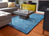 Rippled Quilt Cotton Rug