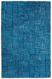 8' x 10' Rippled Quilt Cotton Rug