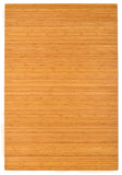 "72"" x 48"" Natural Bamboo Chair Mat, No Lip"