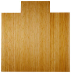 "55"" x 57"" Natural Deluxe Bamboo Chair Mat"
