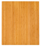 "42"" x 48"" Natural Bamboo Chair Mat, No Lip"