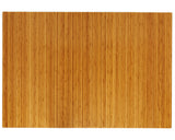 "60"" x 48"" Natural Bamboo Chair Mat, No Lip"