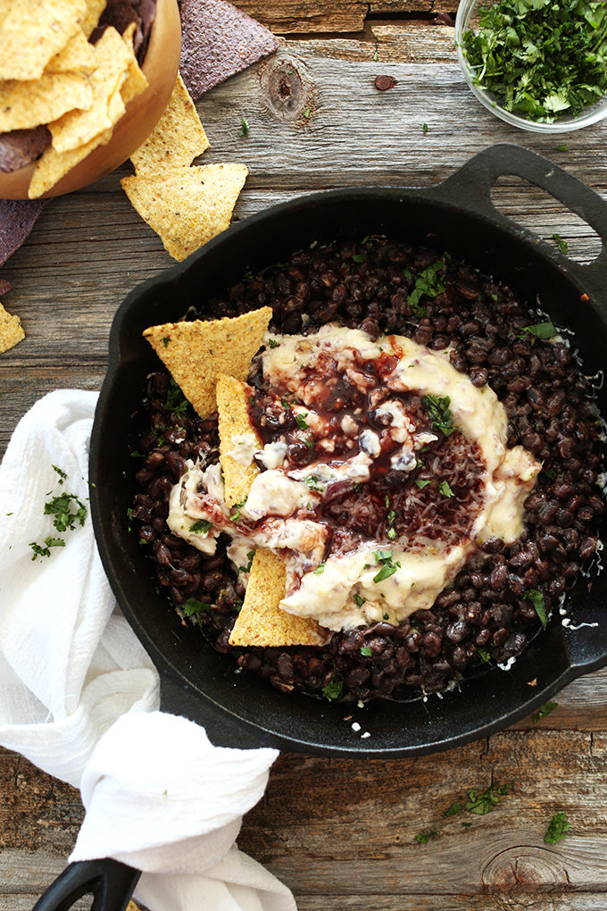 Raspberry Chipotle Black Bean Dip