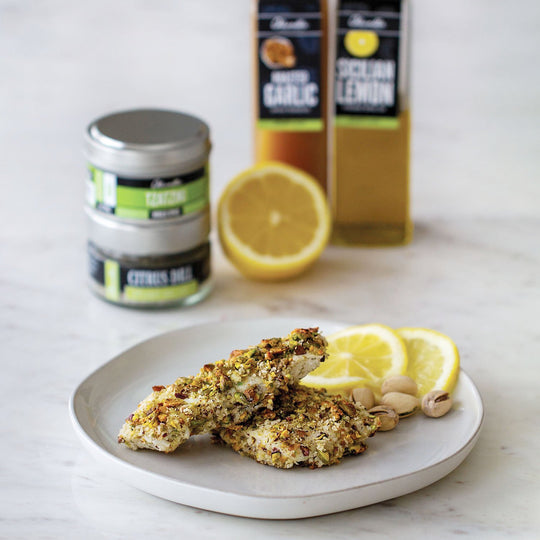 Pistachio Crusted Fish