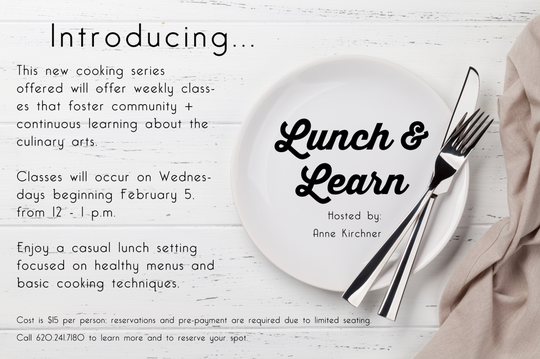 Introducing: Lunch & Learn Series