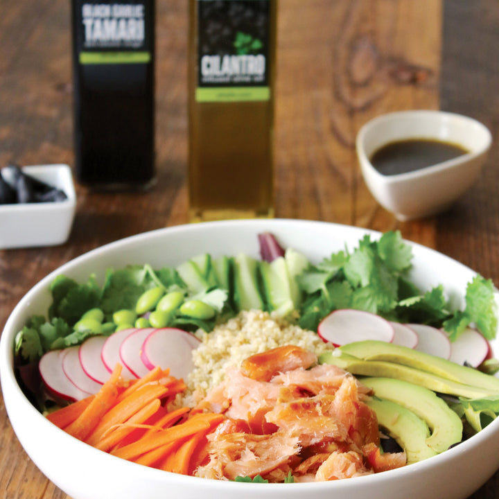 Smoked Salmon & Quinoa Bowl