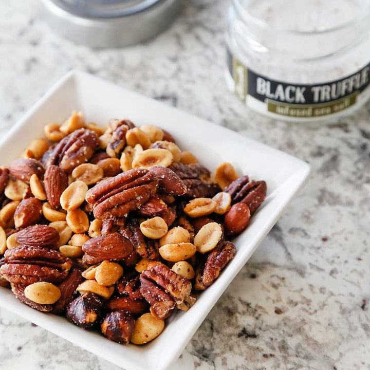 Truffle Rosemary Party Nuts