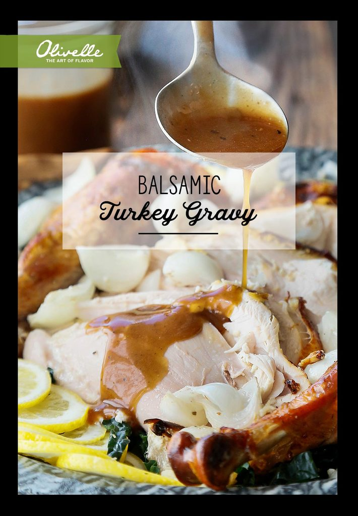 Balsamic Turkey Gravy