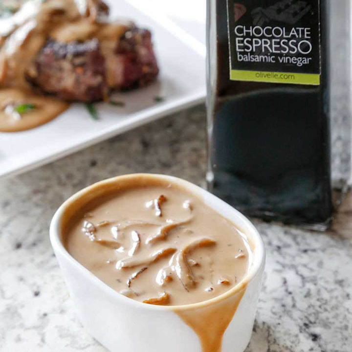 Balsamic Whiskey Cream Sauce