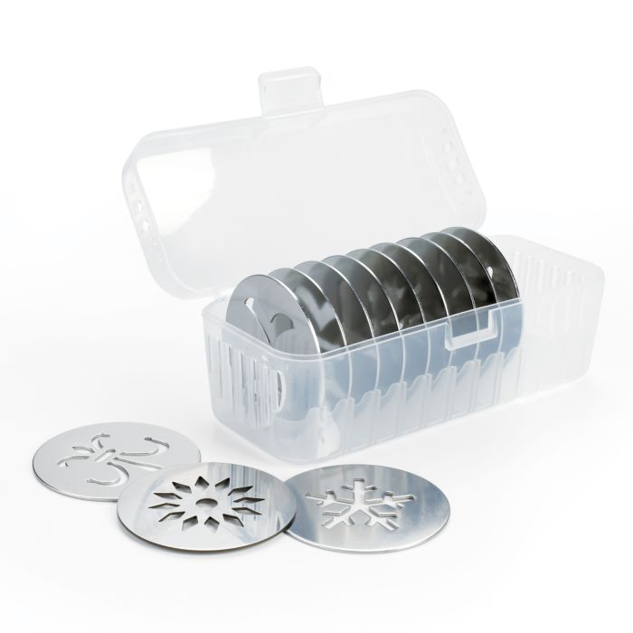 OXO Cookie Press with Disc Storage Case