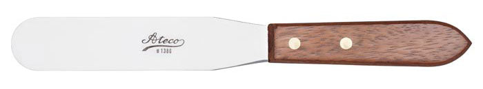 Ateco Cake Spreader w/ Wooden Handle