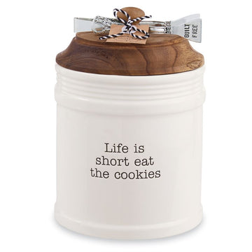 Life is Short Eat the Cookies Jar