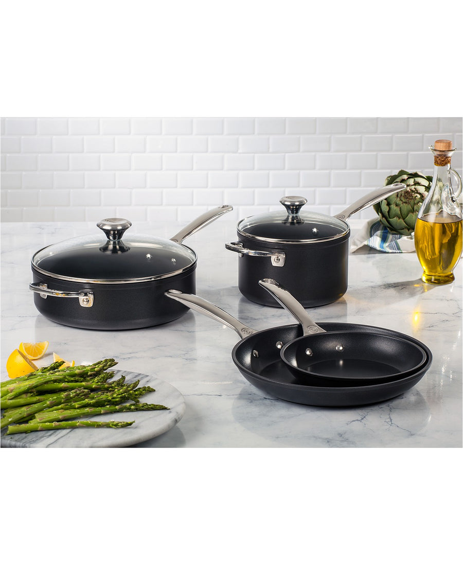 6pc. Toughened Non-Stick Cookware Set