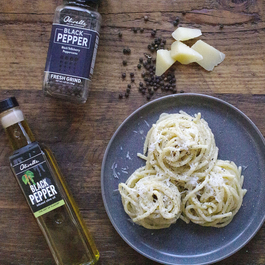 Black Pepper Infused Olive Oil