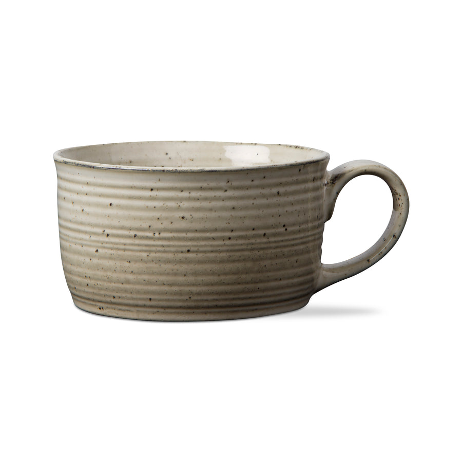 TAG - Reactive Glaze Handled Soup Mug