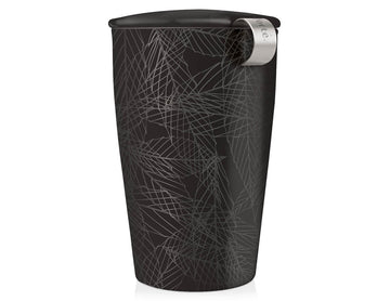 Kati Steeping Cup & Infuser - Noir
