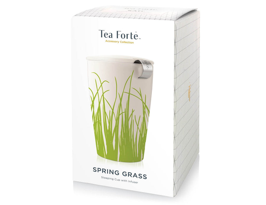 Kati Steeping Cup & Infuser - Spring Grass