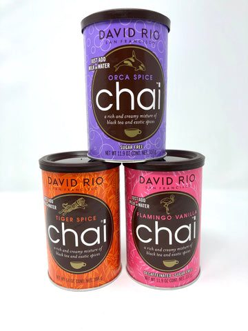Chai Tea by David Rio - Select a Flavor