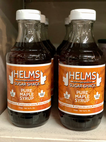 Helm's Sugar Shack Pure Maple Syrup
