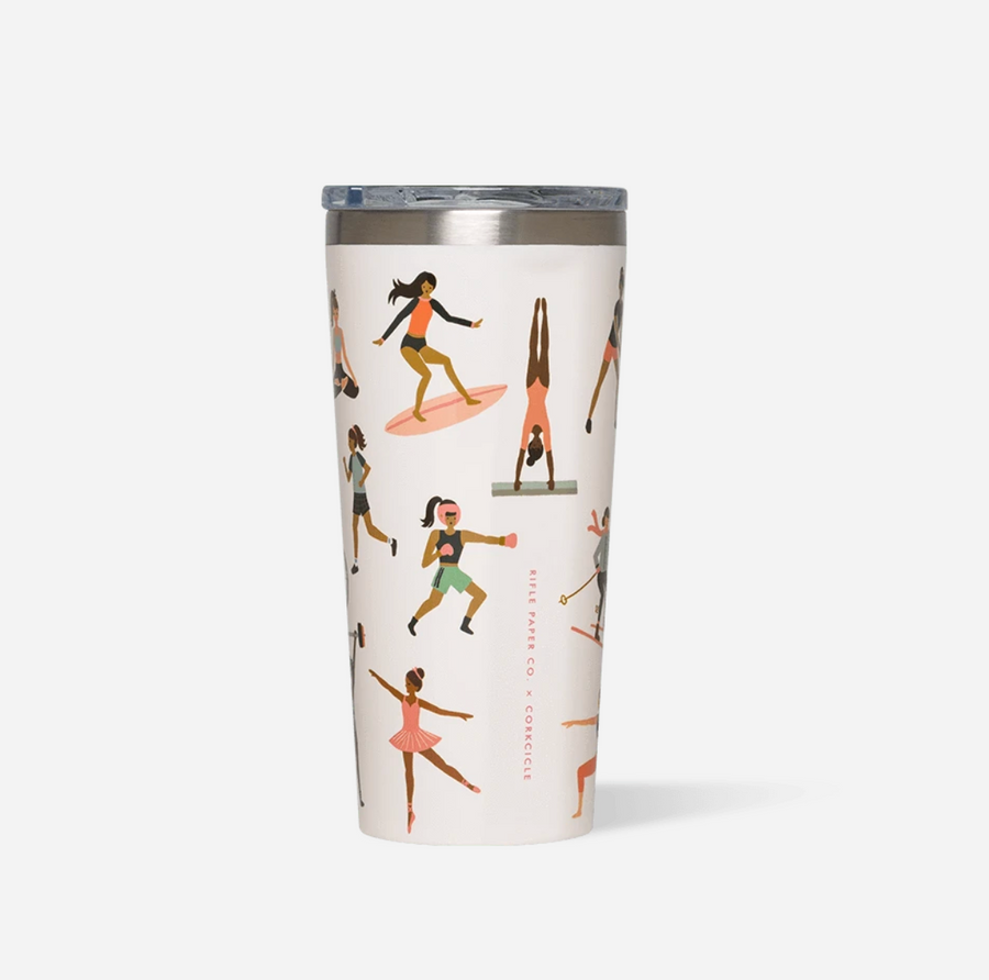 Corkcicle Tumbler - Rifle Paper Co.